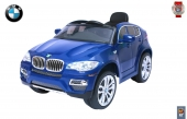 Электромобиль BMW X6 12V R/C blue metallic