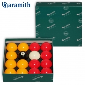 Шары Aramith Casino Red & Yellow 8 Pool Ø57,2мм