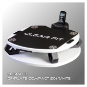 Виброплатформа Clear Fit CF-PLATE Compact 201 WHITE