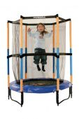 Батут Hudora Safety trampoline Jump in 140 cm Ø оранжевый