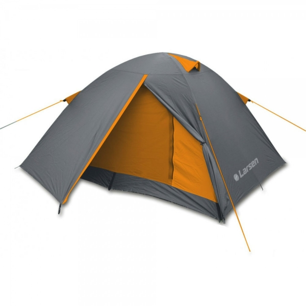 Палатка Larsen A3 Quest Grey-Orange