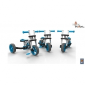 Велобалансир-велосипед-трансформер Y-BIKE Evolve Trike white blue